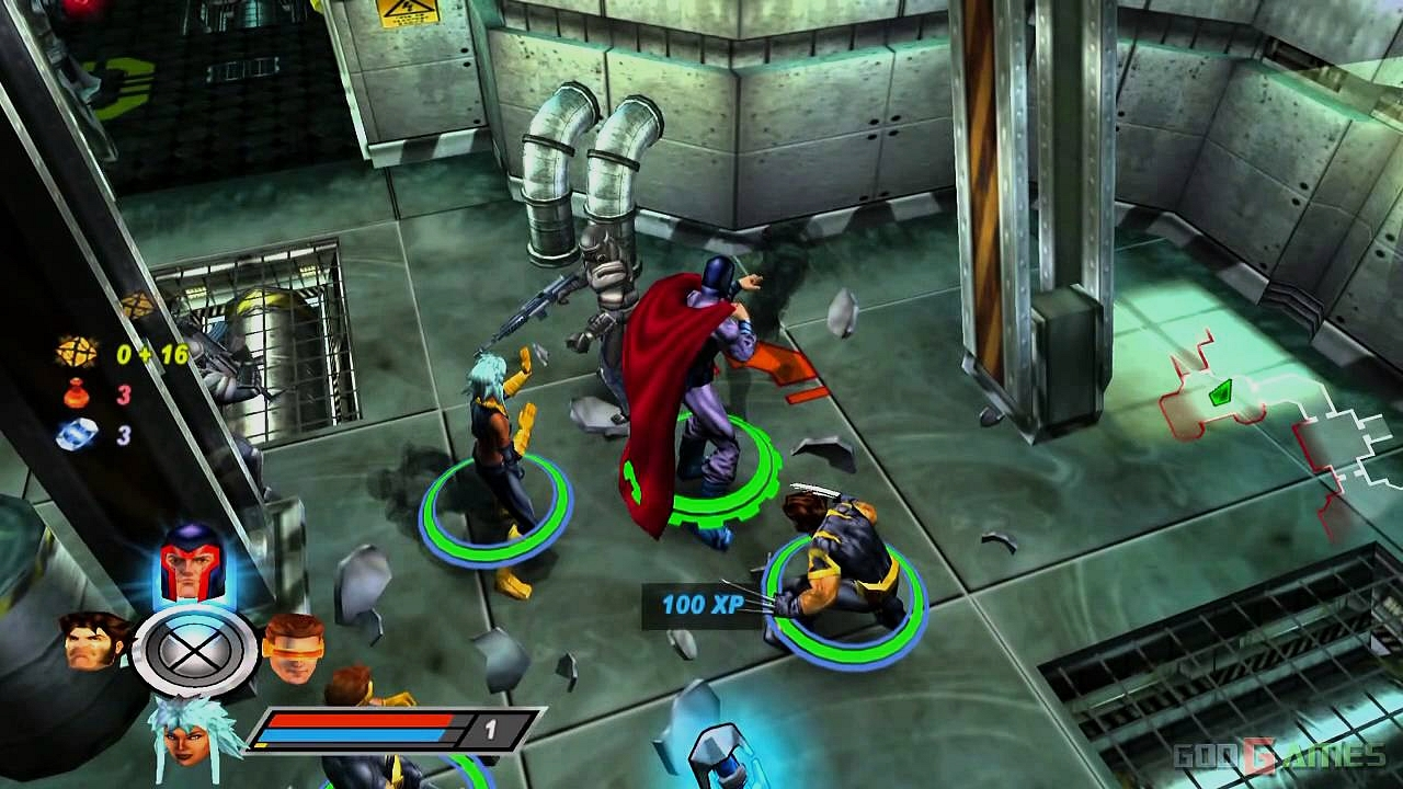 X-Men Oyunu Legends