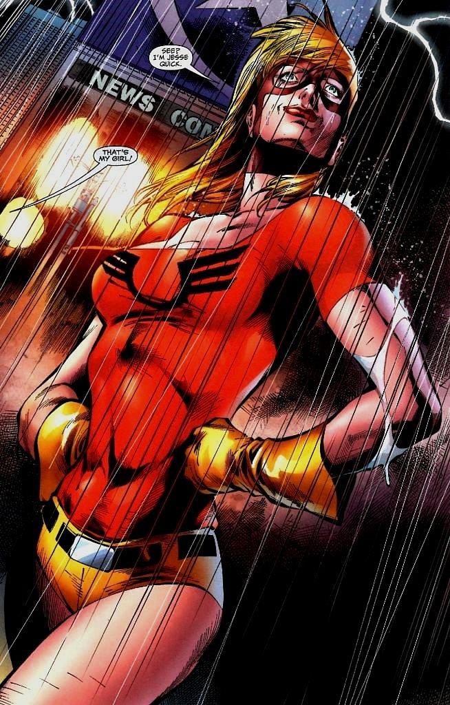 Jesse Quick The Flash'ın yeni bölümlerinde yer alacak