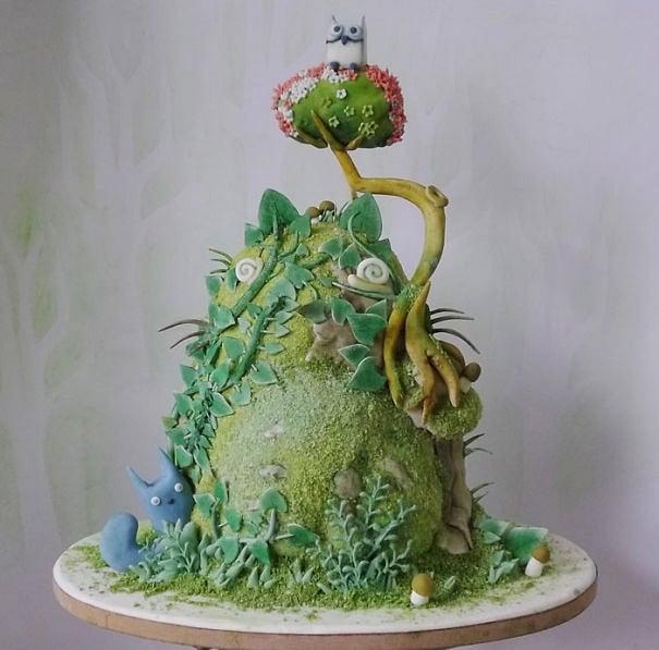 totoro-cake-food-
