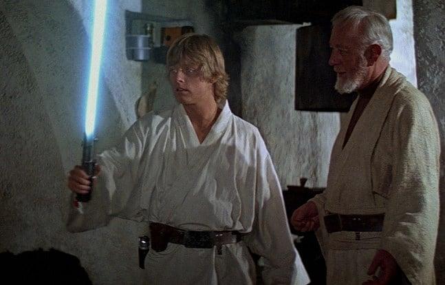 Anakin Luke's lightsaber