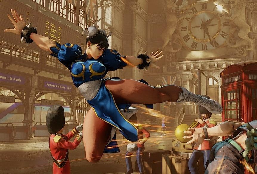 Street Fighter 5 Chun Li
