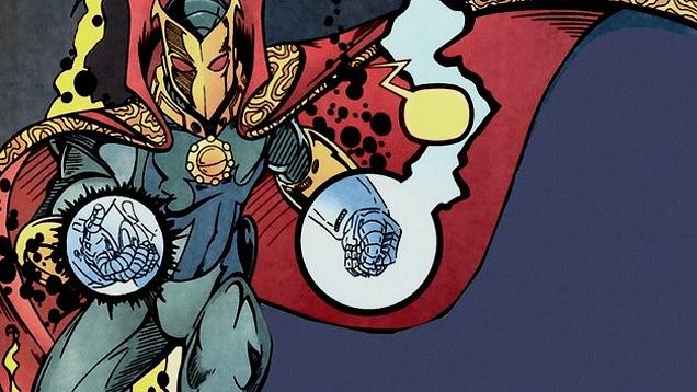 Sorcerer Supreme Armor,