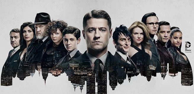 Gotham 2. sezon yeni oyuncularla geliyor.