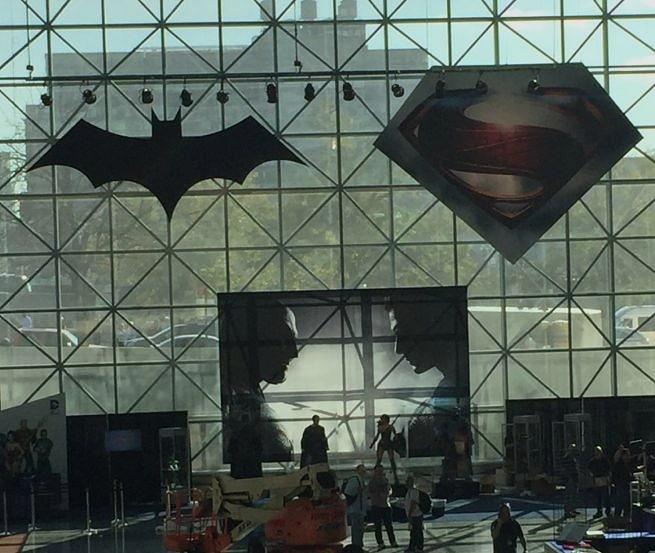 NY Comic Con 2015'ten Batman V. Superman