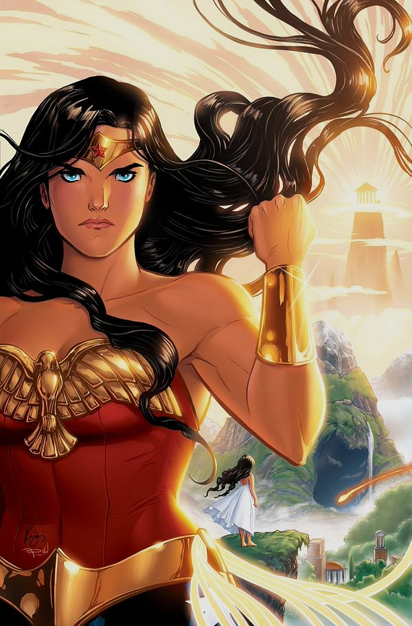 Renae De Liz (DC Comics) çalışması Wonder Woman The Legend of Wonder Woman