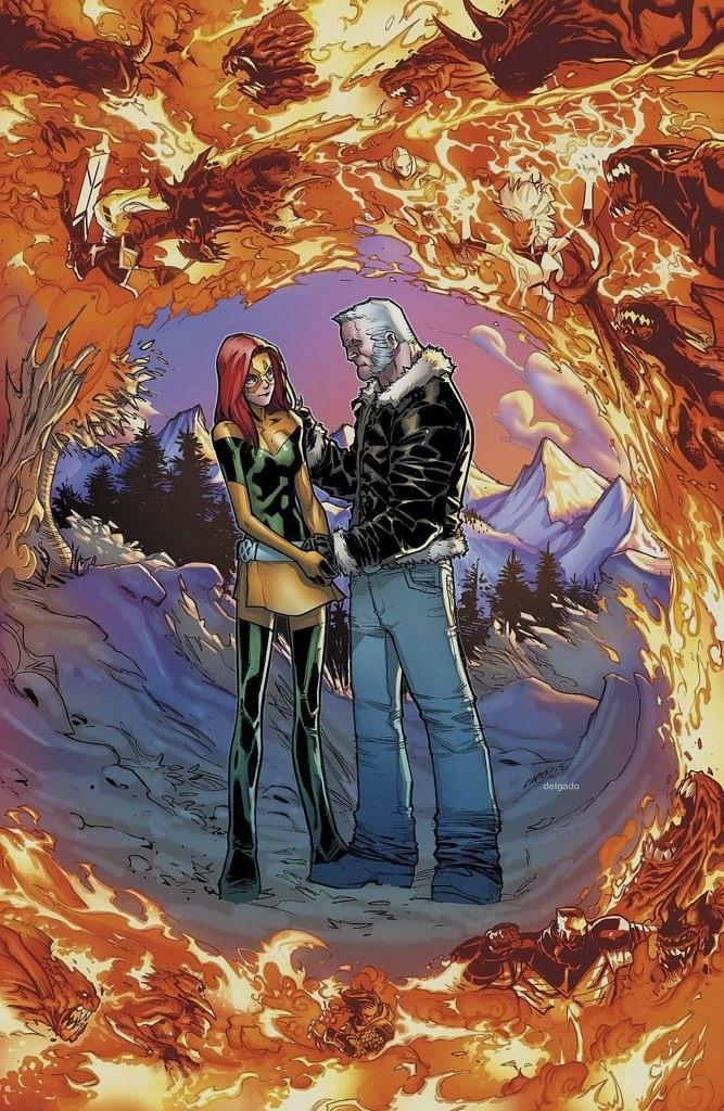 Jean Grey ve Wolverine