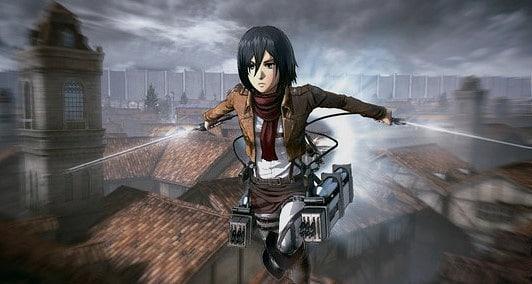 Attack on titan Oyunu Mikasa
