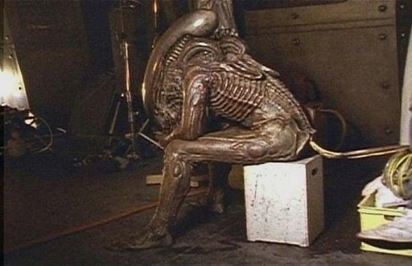 alien 1986 Kamera Arkası