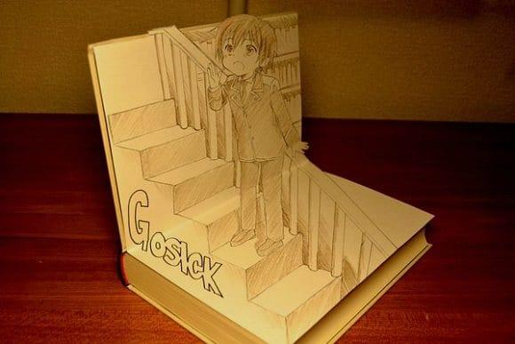 Manga Sanatçısından 3D Popup