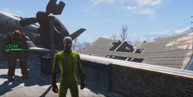 one punch man fallout4