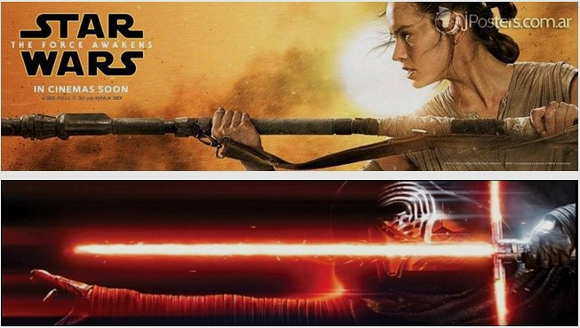Star Wars: The Force Awakens Film Afişleri ve Yeni Star Tours İçeriği