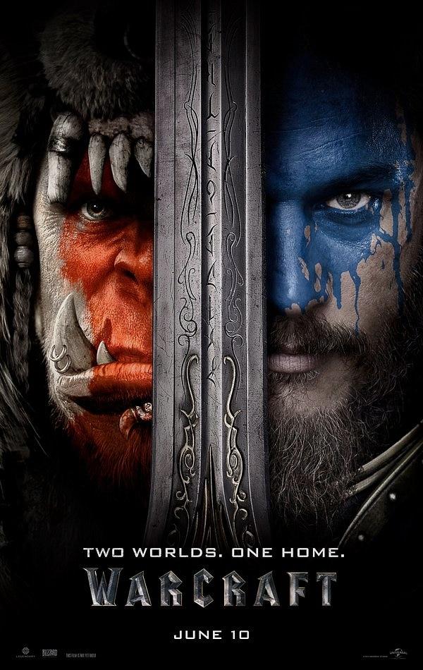 Warcraft filmi posteri