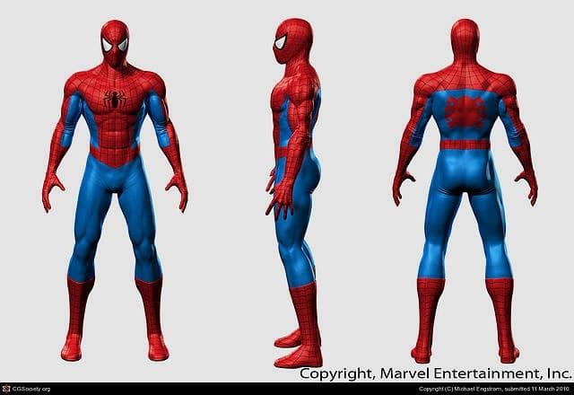 The CLASSIC Spider-Man Costume