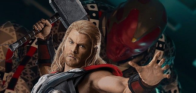 Thor ve Vision Kapışması
