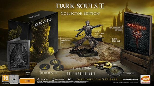 dark souls 3 Collector's Edition