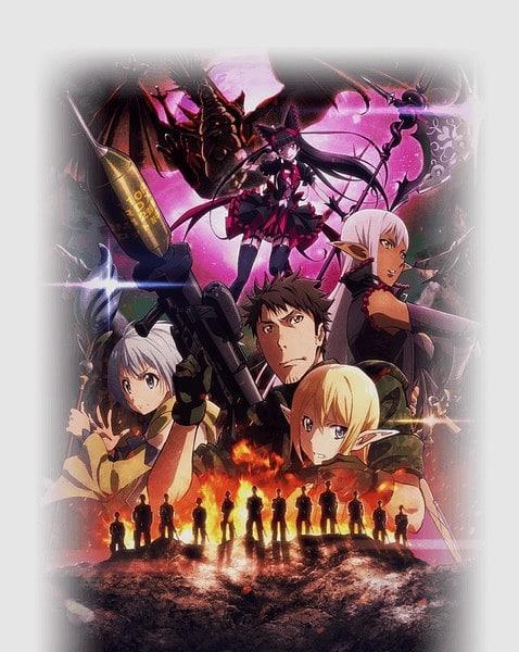 (Gate: Jieitai Kanochi nite, Kaku Tatakaeri)  GATE animesi 2. sezon