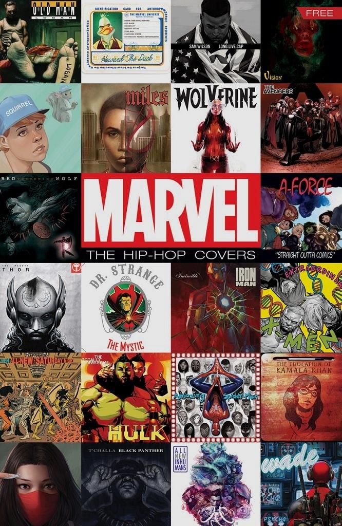 Marvel Hip-Hop temalı kapakları