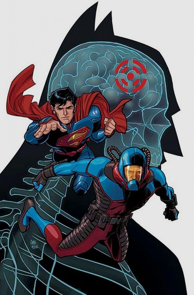DC 'nin New 52 evrenindeki takım arkadaşı Superman. Geleneksel kostümünün ağır donanımlı bir suit haline geldiğini görüyoruz.