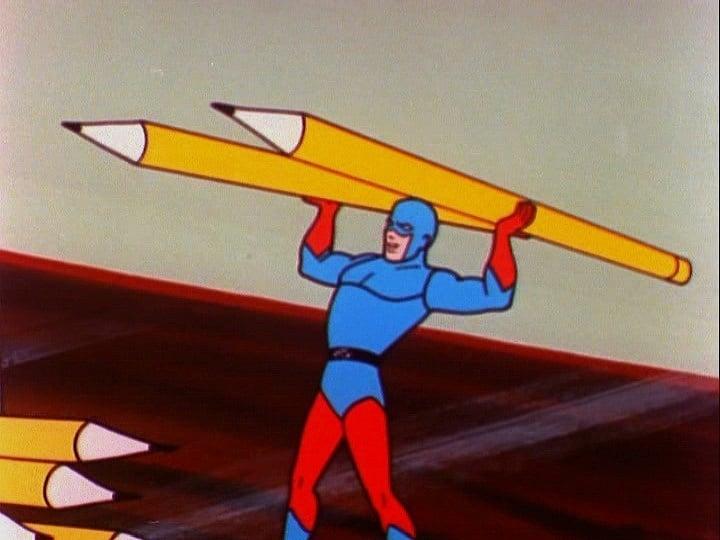 Filmation şirketinin The Superman-Aquaman Adventure Hour isimli çizgi filmlerinde de Ray'in geleneksel kostümünü görüyoruz