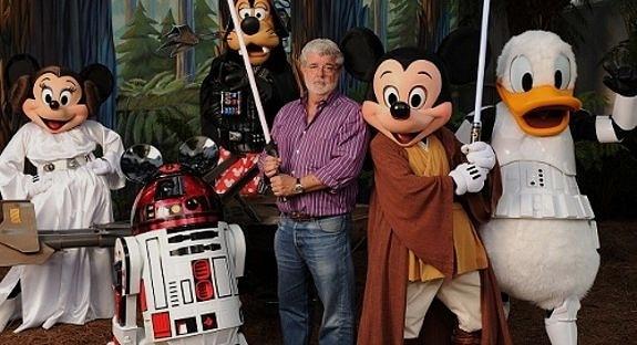 George Lucas Disney Characters