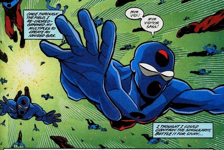 Grant Morrison'ın tekrar baştan imajine ettiği Atom'u DC One Million 'da görmekteyiz. Karakter oldukça farklı görünüyor. Ayrıca güçlerinde de radikal değişiklikler mevcut.