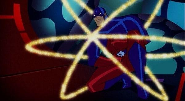 JLA serisi olan Justice League Unlimited'da diğer karakterler gibi Atom'da da değişiklikler mevcut. Açıkcası bu kostümü kötü duruyor denemez.