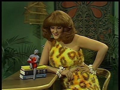 Live -Action Tv özel serisinde Legends of the Super- Heroes The Roast 'da ucuz maliyetli bir kostüm ile karşımızda