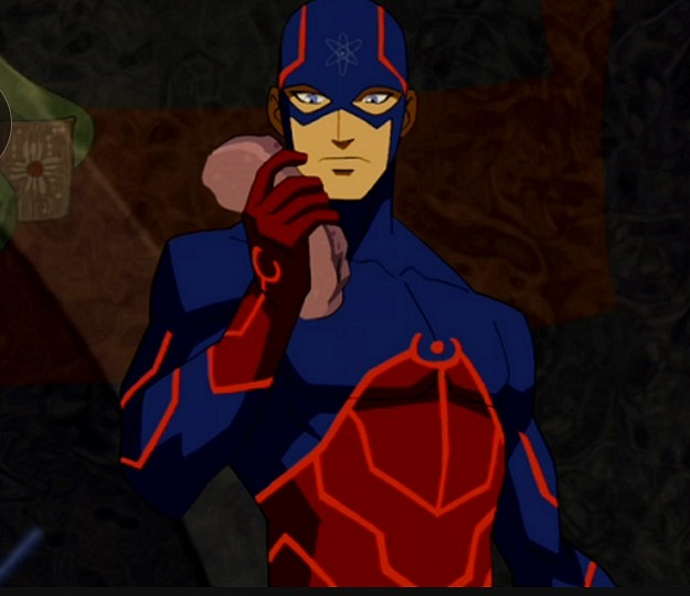 Yine geleneksek kostüme hoş bir makyaj yapılmış gibi. Young Justice animasyon serisinde bu kostüm mevcut