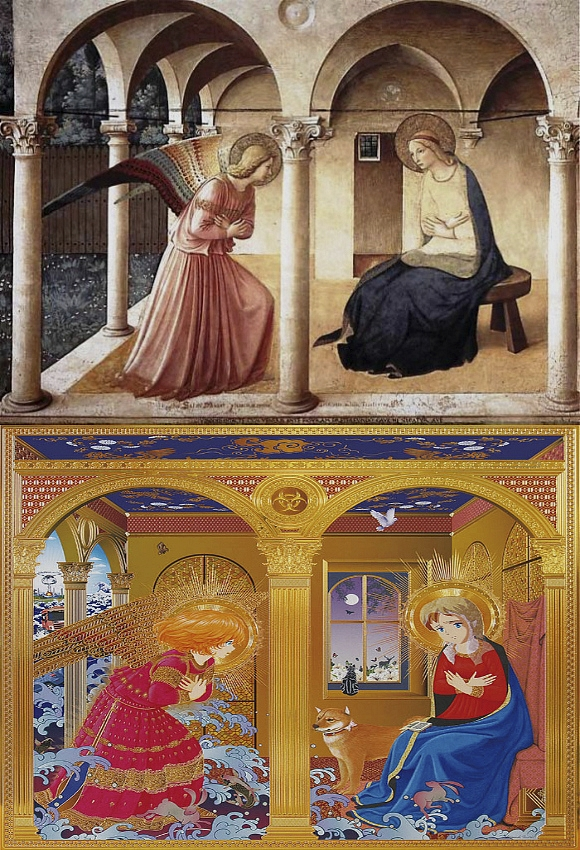 Memories 3 (Fra Angelico, The Annunciation)