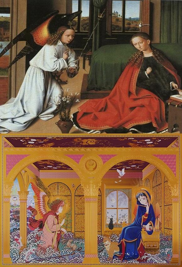 Memories 1 (Petrus Christus The Annunciation)