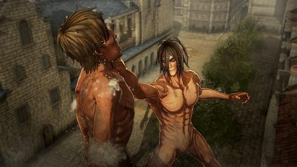 Attack on Titan Oyunu - Eren titan modu