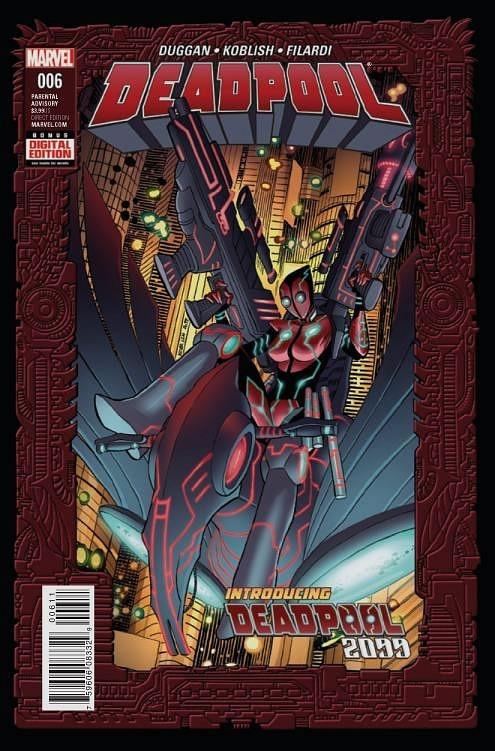 DEADPOOL #6 Deadpool 2099