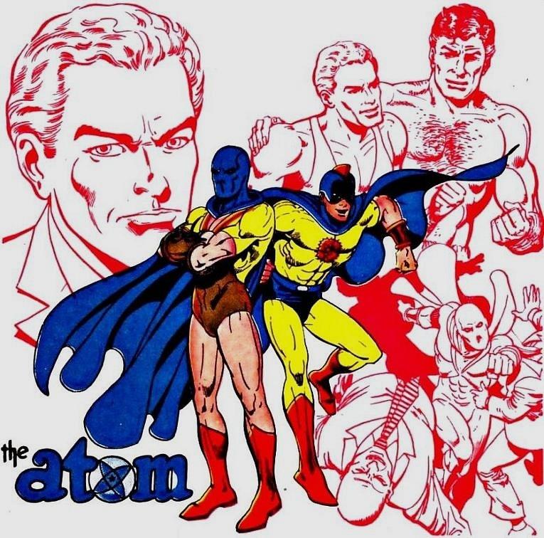 Golden Age Atom, Ray Palmer değildi. Al Pratt, farklı bir kostüm ve renkli başlık ile maskesi ile suçlulara karşı savaşmaktaydı