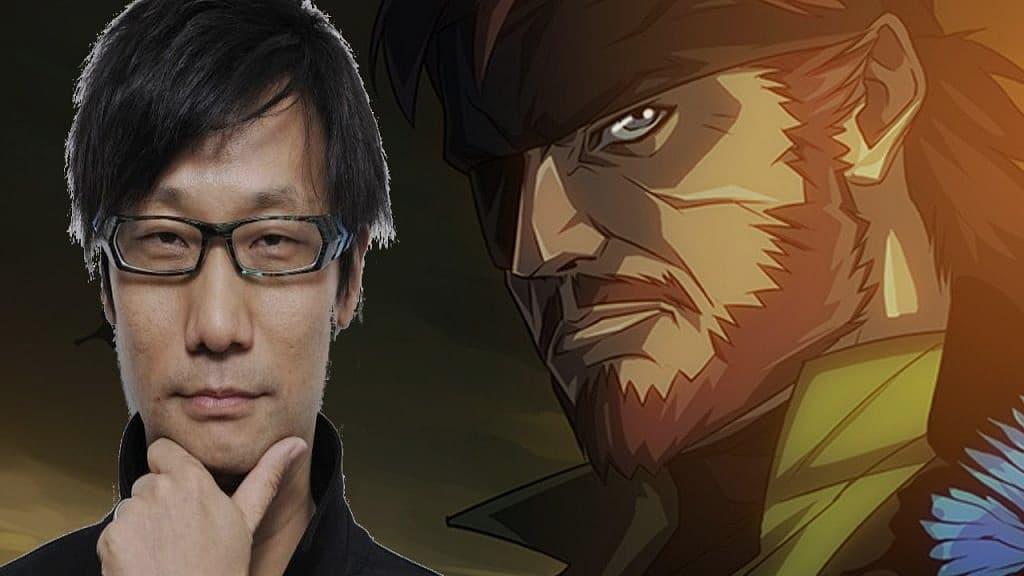 Hideo Kojima mgs anime