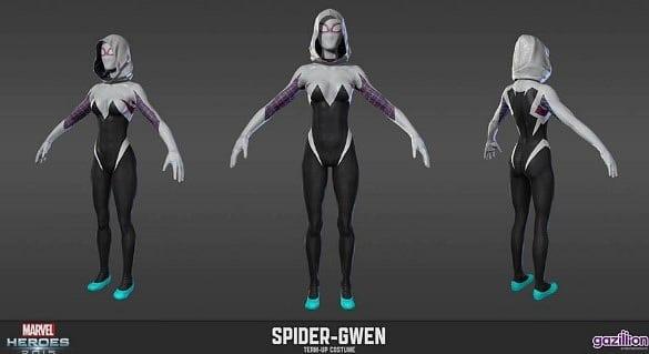 Marvel Heroes 2016 spider gwen