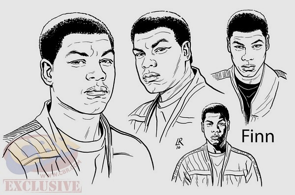 star wars finn comicbook