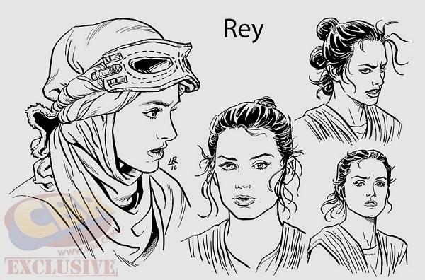 star wars rey comicbook
