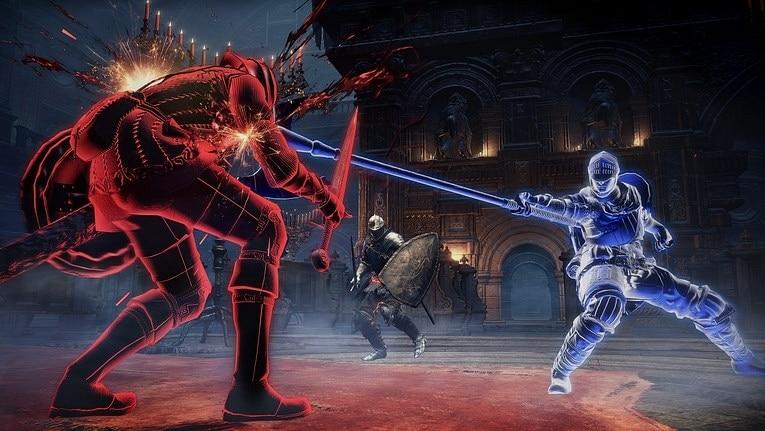 dark souls 3 mekan kırmızı mavi