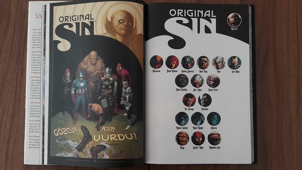 Original Sin Marvel 2