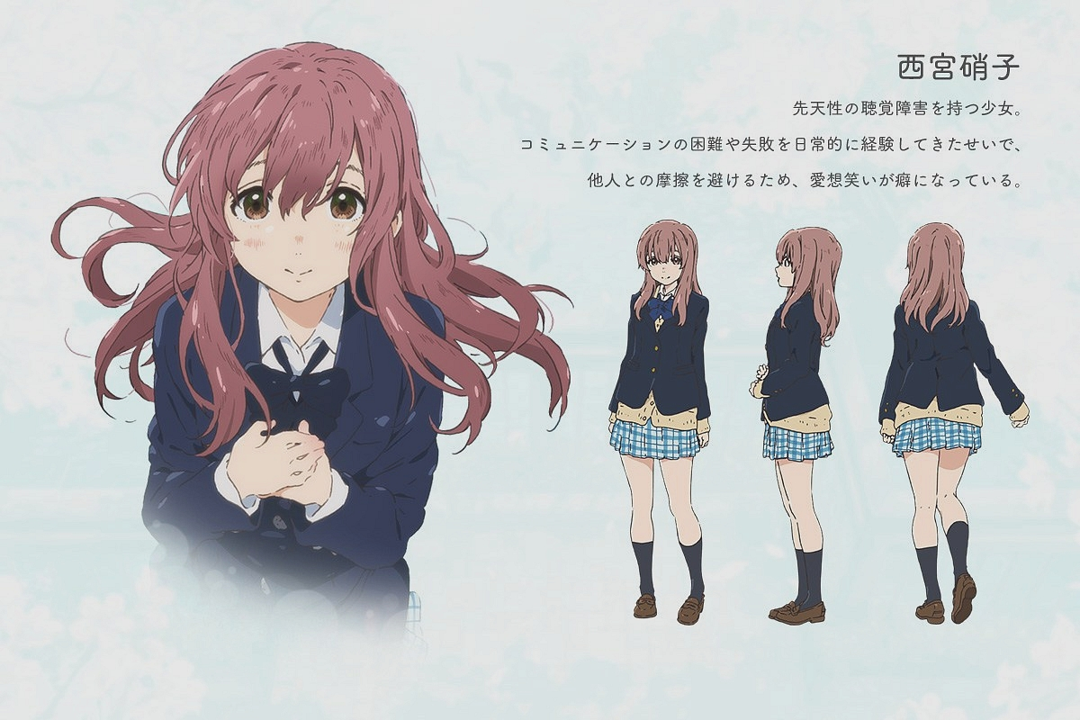 Koe-no-Katachi-Anime-Character-Designs-Shouko-Nishimiya