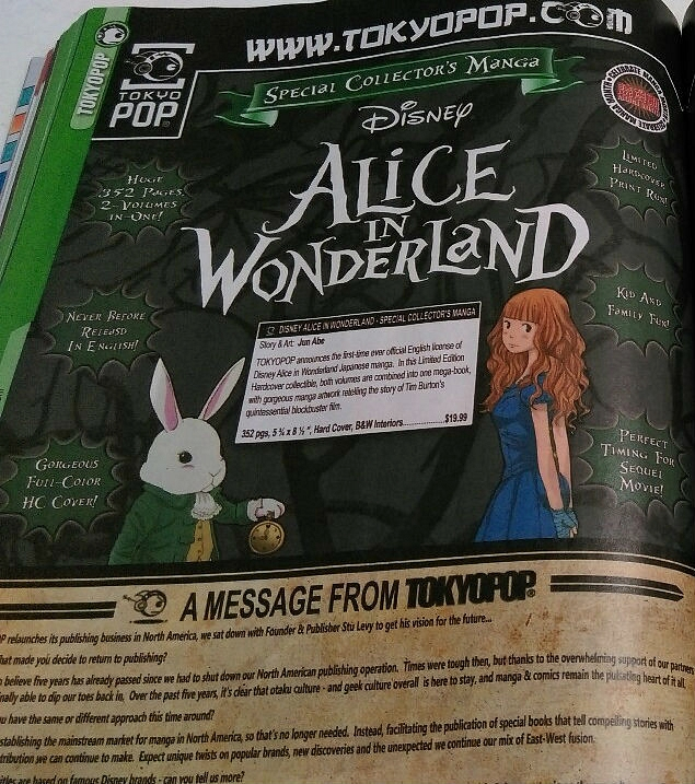 alice in woderland anime 2