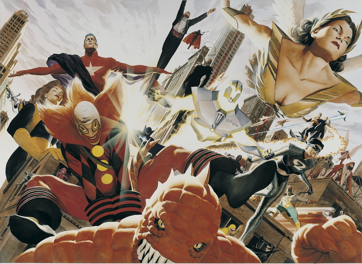 6. Kurt Busiek's Astro City