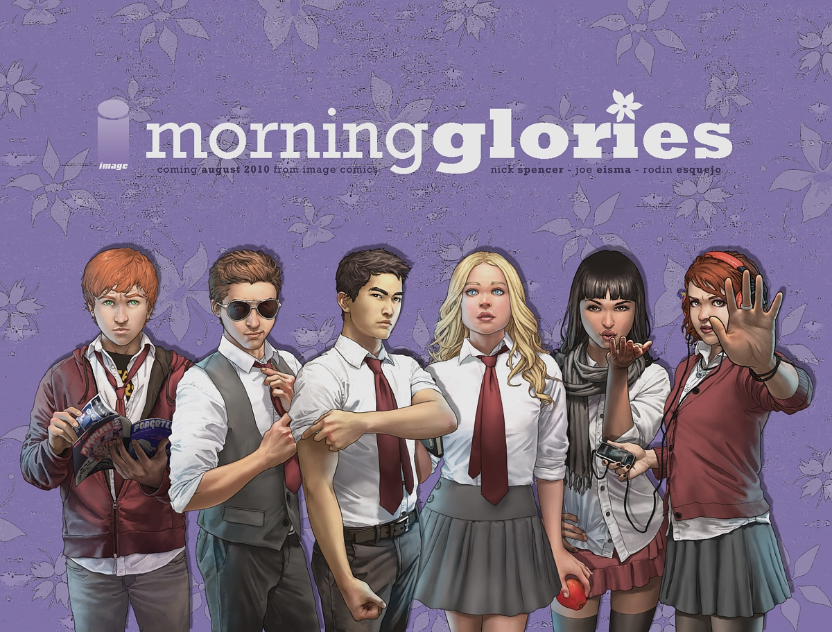 9. Morning Glories