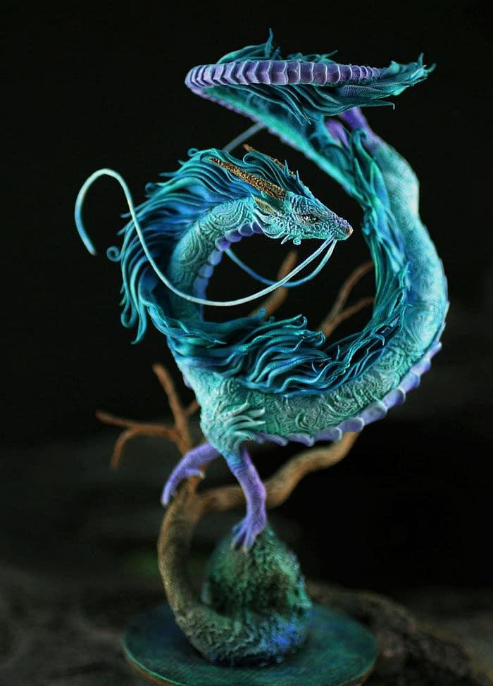 Dragon Haku Heykeli