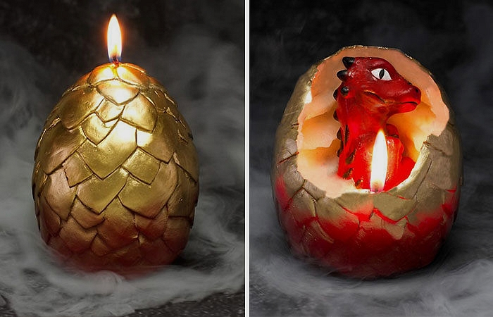 ejderha yumurtası mum