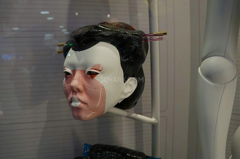 ghost in the shell cyborg geisha