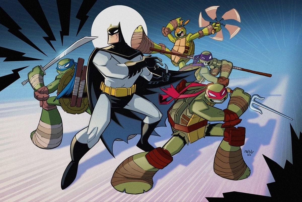 batman ve ninja kaplumbağalar