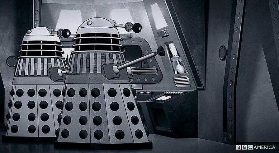 The Power of The Daleks dizi