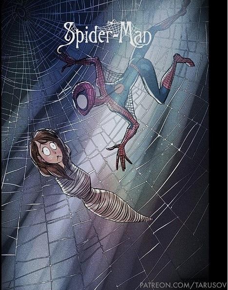 Tim Burton Style Spider-man