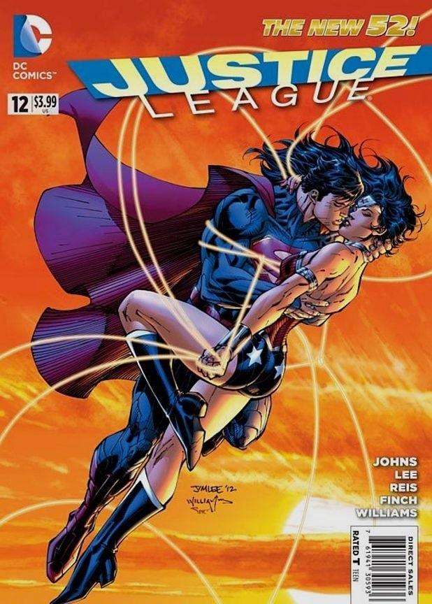 superman-wonder-woman Süper Kahraman Çifti